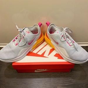 Nike Shoes - Nike Air Max Motion 2 - Women 7 - Grey/Orange/Pink